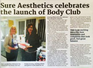 Body Club Launch